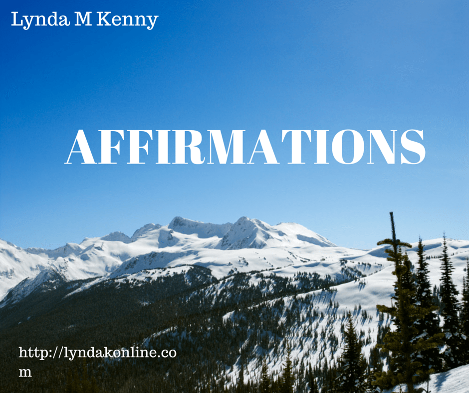 Using Affirmations to Improve your Self Esteem