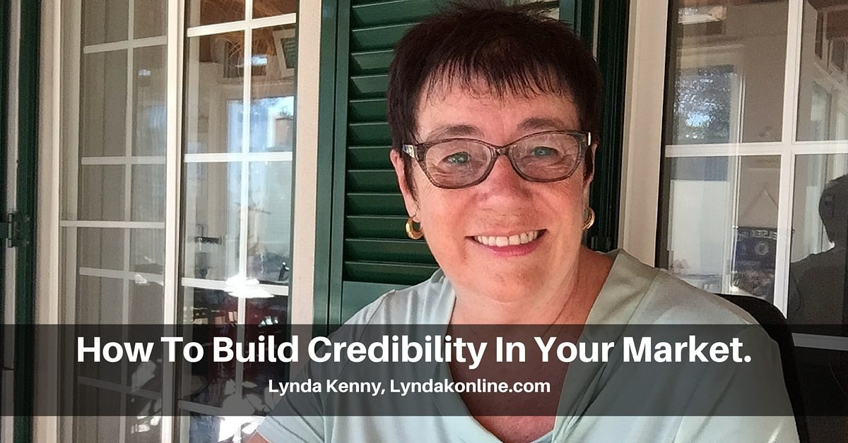 how to build credibility in business