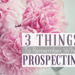 #3 Things To Remember When Prospecting