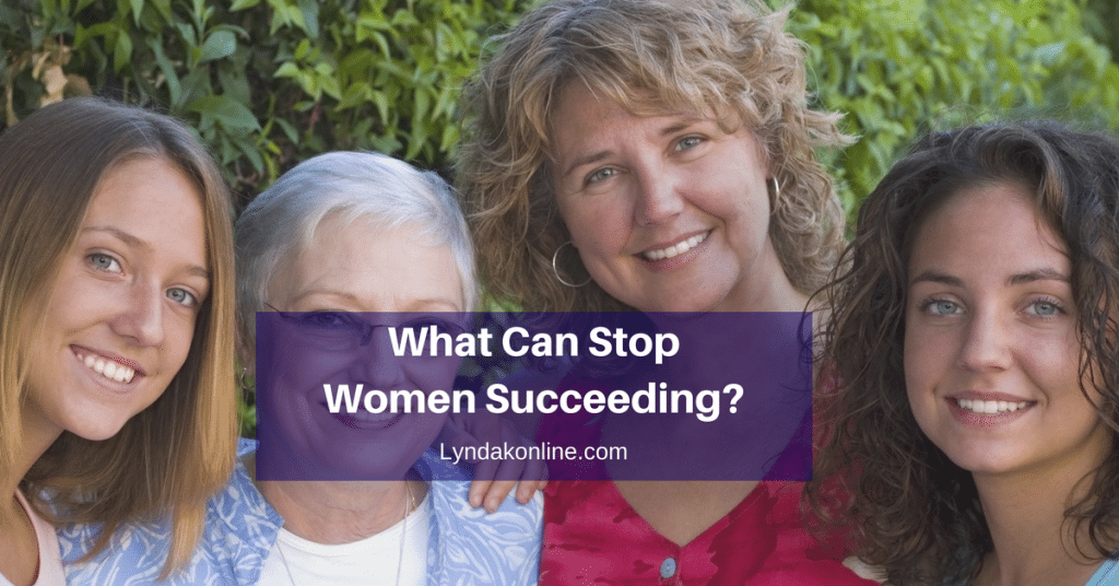What Can Stop Women From Succeeding?