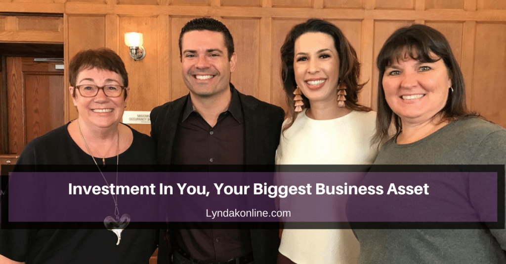 Investment In You, Your Biggest Business Asset