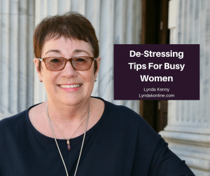 De-Stressing Tips For Busy Women