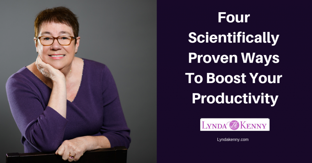 Four Scientifically Proven Ways To Boost Your Productivity