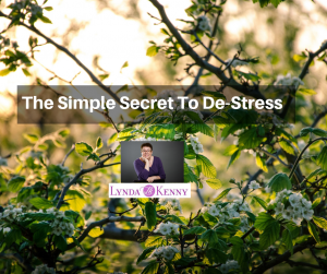 The Simple Secret To De-Stress